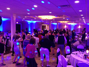 Rocking the floor at Avante Banquet Center in Clinton Twp, MI